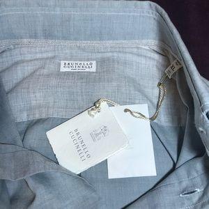 Brunello Cucinelli Mens Longsleeve Shirt XL